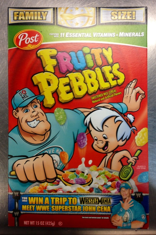 Cena Fruity Pebbles - Front