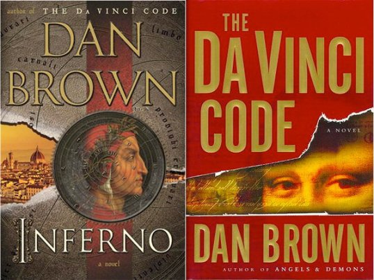 Inferno & The Da Vinci Code