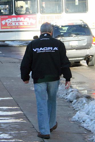 Guy on viagra