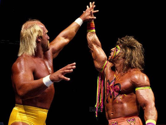 WrestleMania Rewind - Hulk Hogan vs. Ultimate Warrior