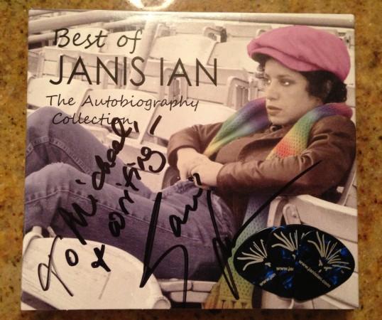 Autographed Janis Ian Album