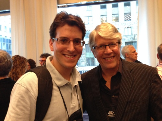 Meeting Douglas Preston at ThrillerFest VIII.