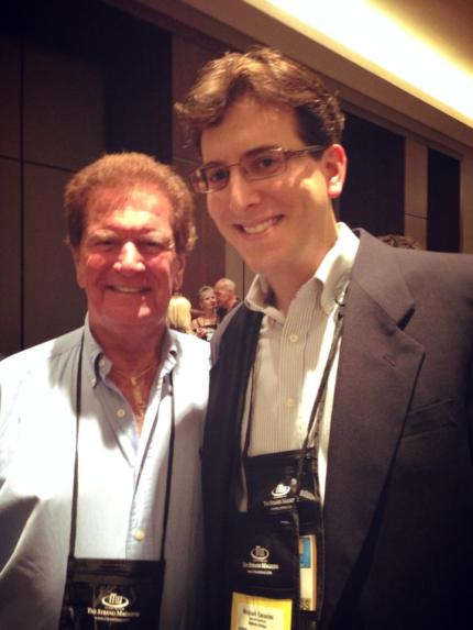 Meeting Tom Sawyer at ThrillerFest VIII.