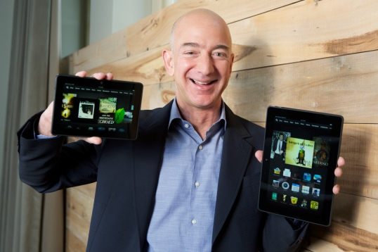 Jeff Bezos - Kindle Fire HDX