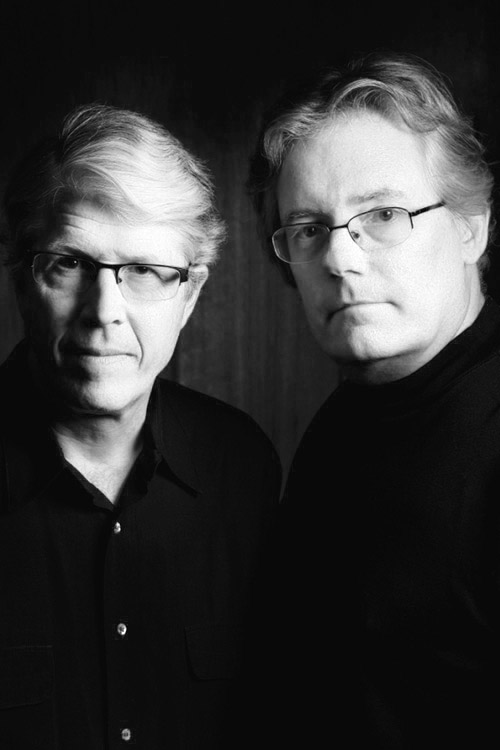 Douglas Preston (left) and Lincoln Child.