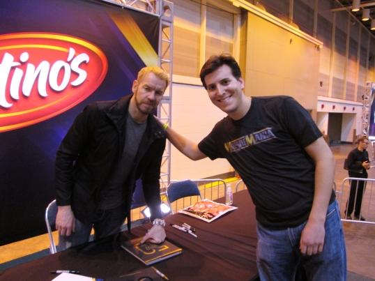 Meeting WWE Superstar Christian.