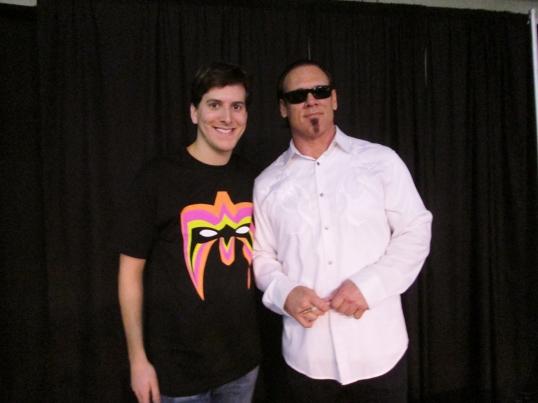Meeting WCW and TNA wrestling legend, Sting.