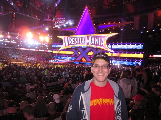 I had a great view of the action from my seat at WrestleMania XXX.