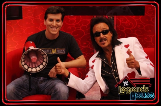 "Spending time with the ""Mouth of the South"" Jimmy Hart."