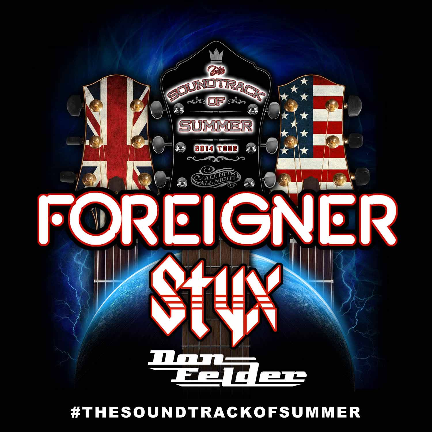 Styx Soundtrack Of Summer Tour