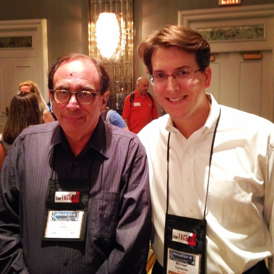 Meeting R.L. Stine, the man behind Goosebumps and Fear Street.