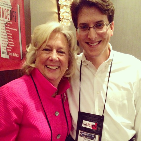With the great Linda Fairstein.