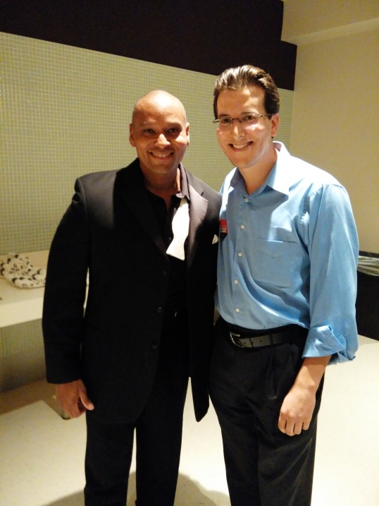 Backstage with Dionne Warwick's musically gifted son: David Elliott.