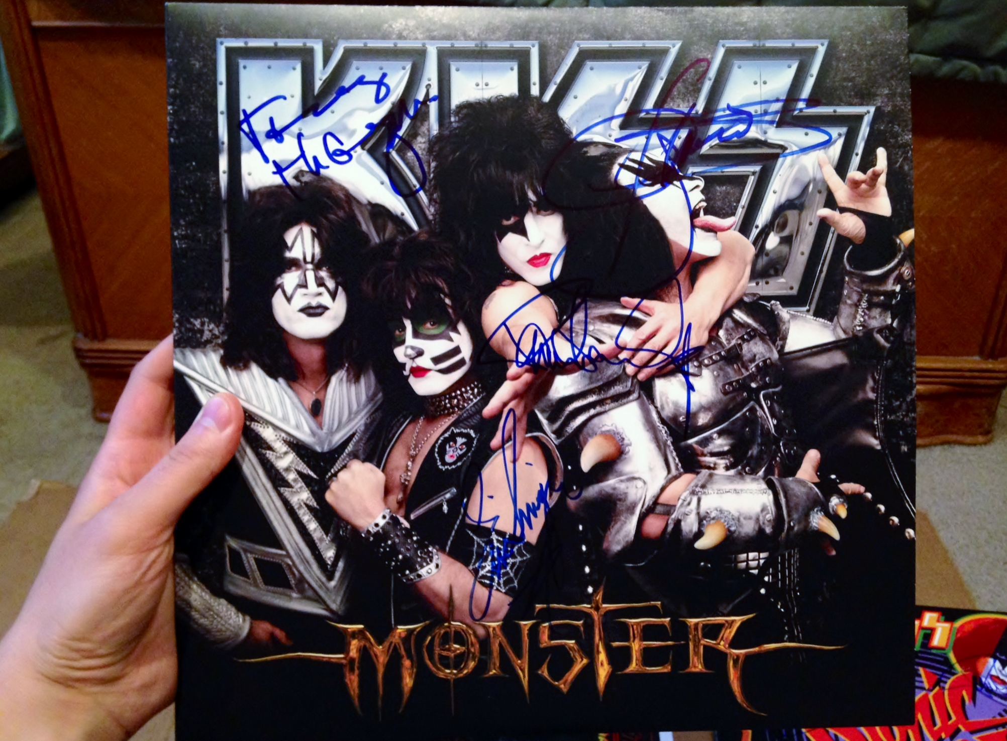 Kiss the best show on earth michael cavacini photo 3 1 photo 4 after the meet and greet with kiss m4hsunfo