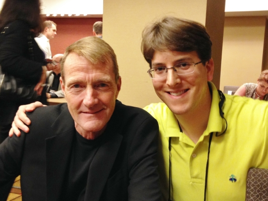 Me and Lee Child at ThrillerFest IX in July 2014.