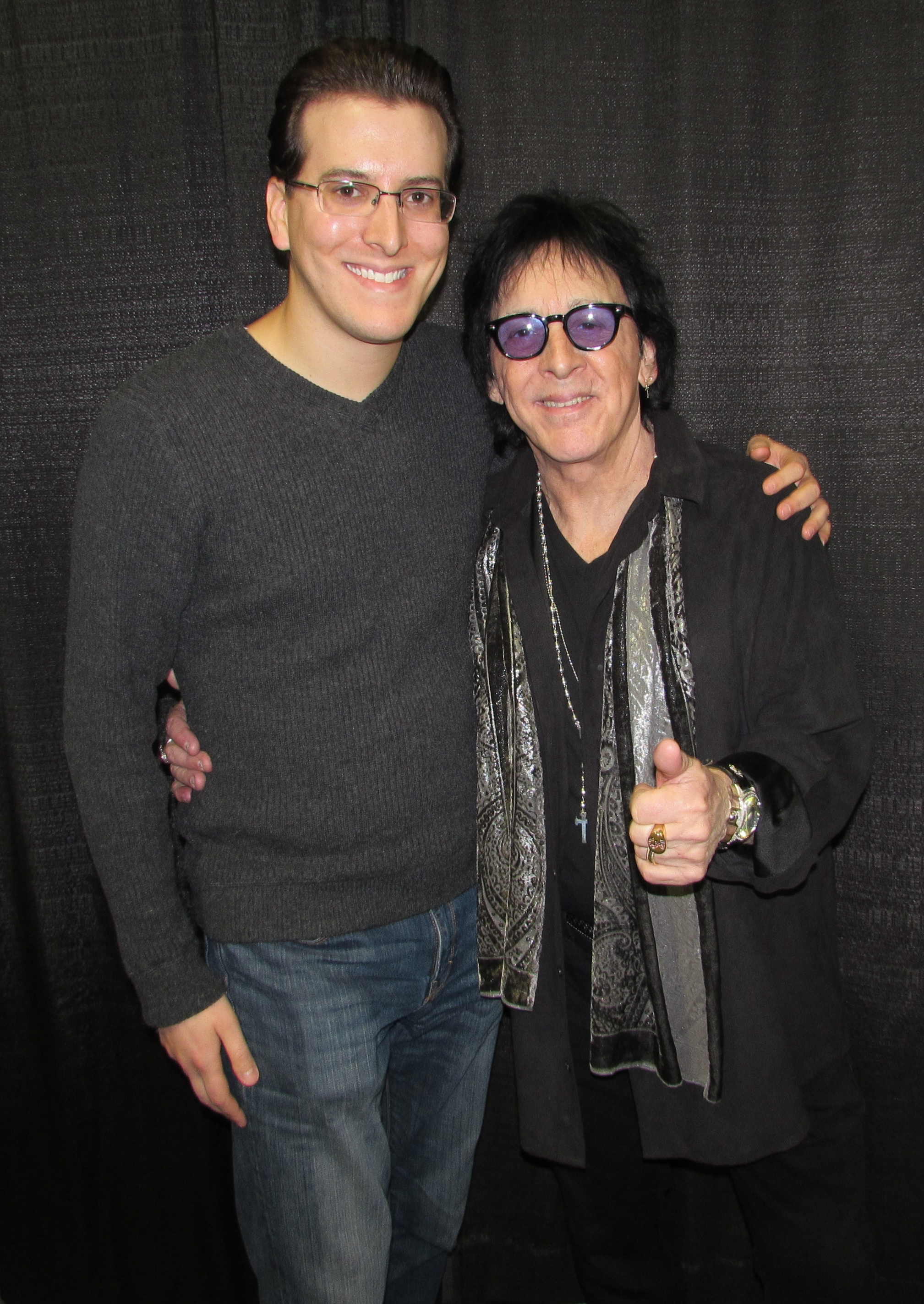 Peter criss what it was like meeting the catman michael cavacini meeting the legendary peter criss at the all things that rock festival in oaks pa kristyandbryce Choice Image
