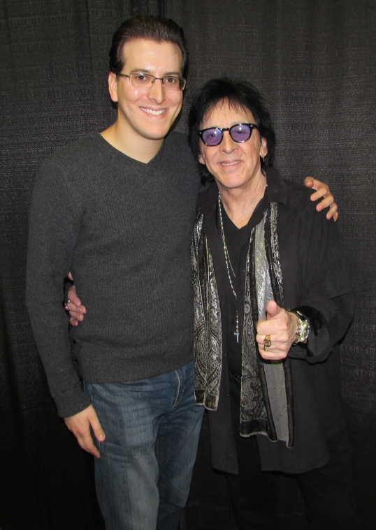 Meeting the legendary Peter Criss at the All Things That Rock festival in Oaks, PA.