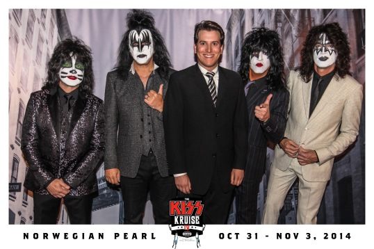 Me, dressed to kill, with KISS.