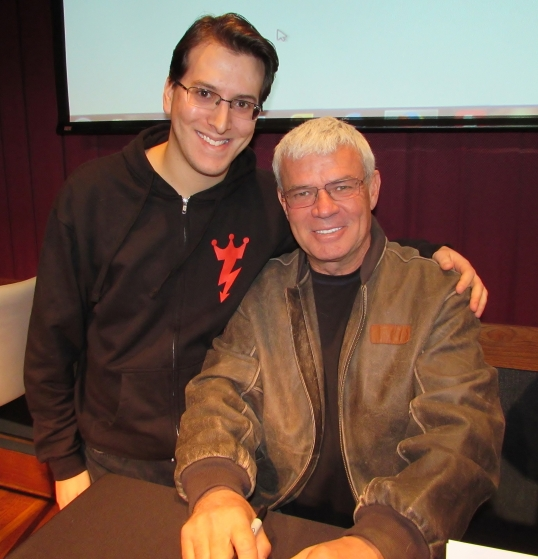 Spending time with the mastermind behind WCW Monday Nitro and the N.W.O., Eric Bischoff.