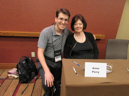 Meeting Anne Perry.
