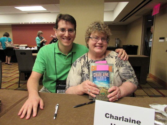 With Charlaine Harris.