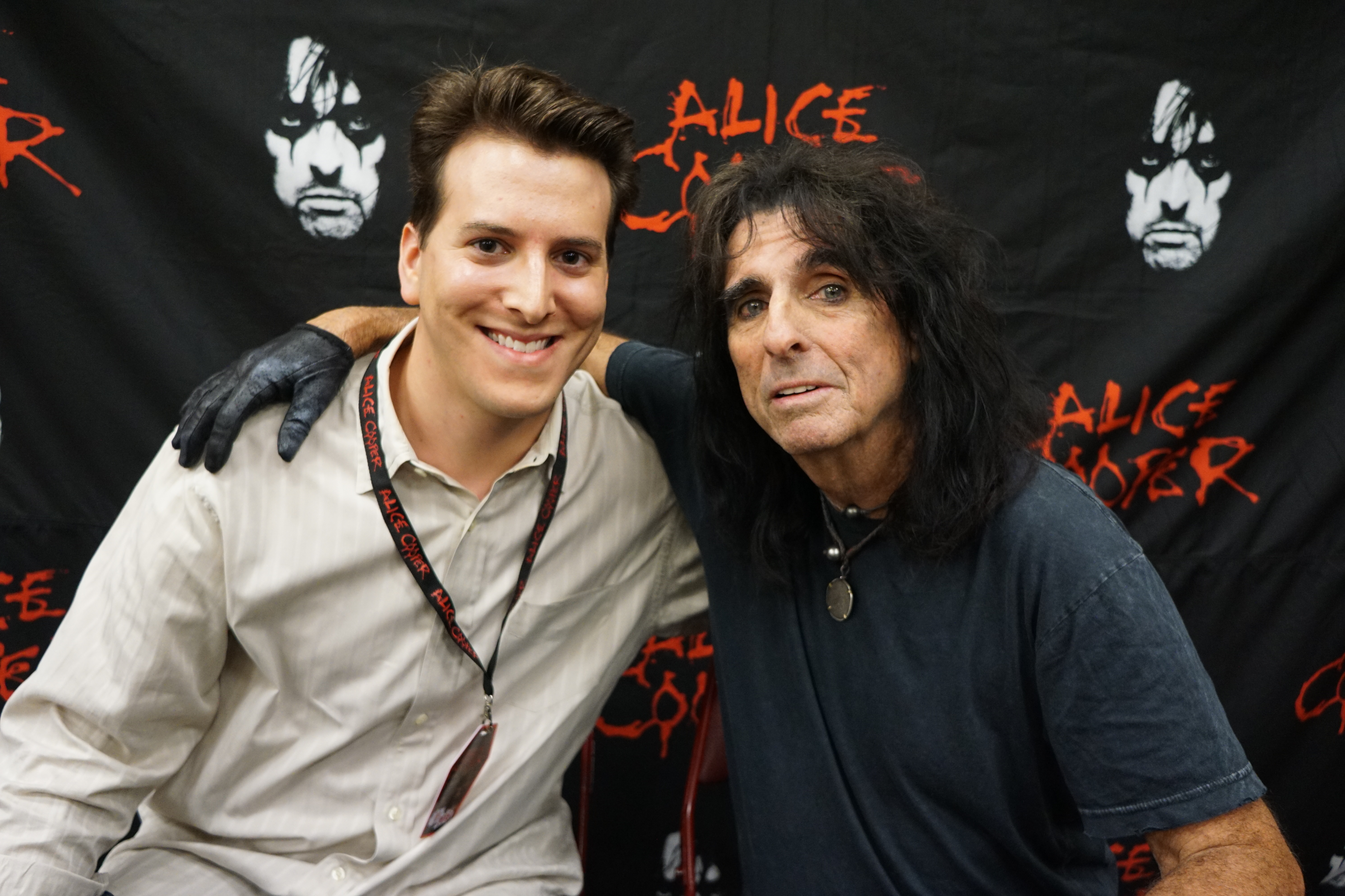 Elton john michael cavacini as you know by now one of my passions is music and i love meeting the artists whose music inspires me one of those individuals is alice cooper kristyandbryce Choice Image