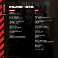 Streaming Horror: October
